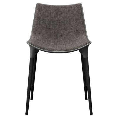 Langham Dining Chair Finish: Graphite on Black Oak