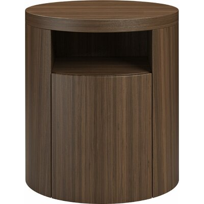 Mulberry 1 Drawer Nightstand Finish: Walnut
