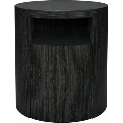Mulberry 1 Drawer Nightstand Color: Gray Oak