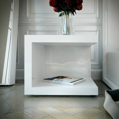 Ludlow Nightstand Finish: White Lacquer
