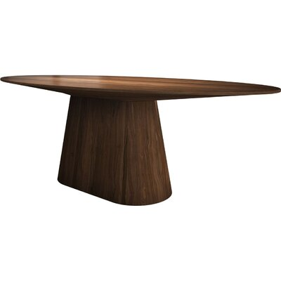 Sullivan Oval Dining Table Finish: Walnut