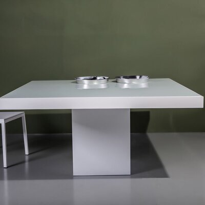 Beech Square Dining Table Table Finish: White