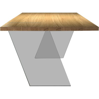 Venezia Dining Table Top Finish: Natural Oak