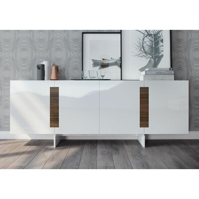 Brixton Sideboard Color: White Lacquer