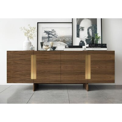 Brixton Sideboard Color: Walnut