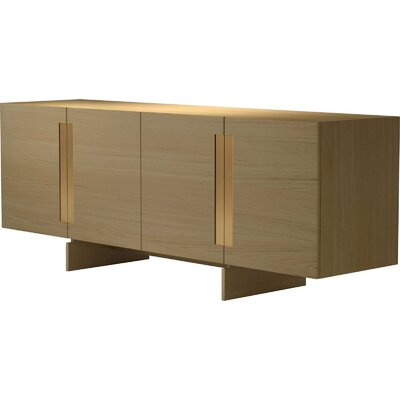 Brixton Sideboard Color: Natural Oak