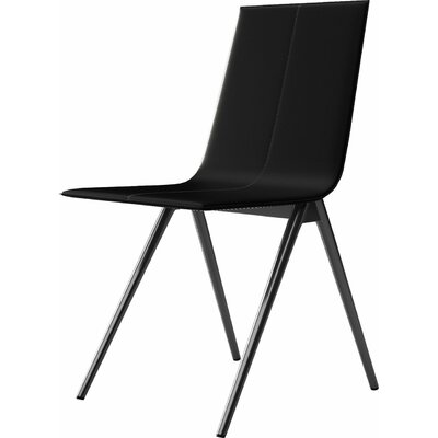 Mayfair Side Chair Upholstery: Black