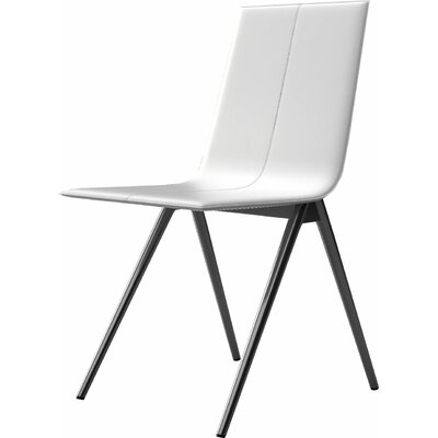 Mayfair Side Chair Upholstery: White