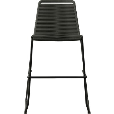 Barclay 26 Patio Bar Stool Color: Gray