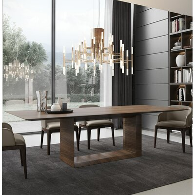 Greenwich Dining Table Size: 30 H x 45 W x 87 L