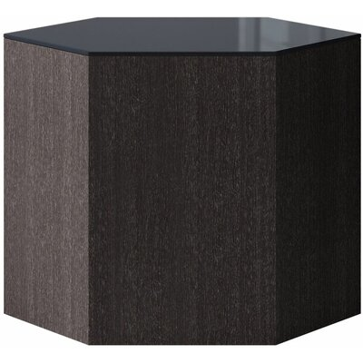 Centre Coffee Table Size: 14 H x 18 W x 18 D, Top Color: Asphalt