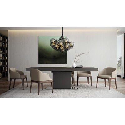 Astor Dining Table Table Finish: Wenge