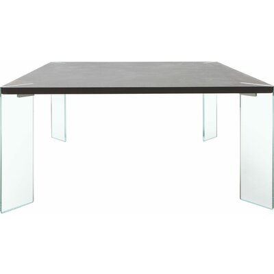 Bari Dining Table Top Finish: Anthracite Concrete