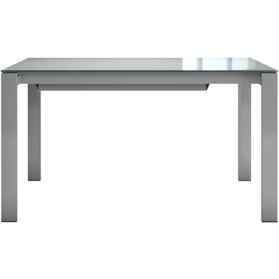 Napoli Dining Table Finish: White Glass / White Matte