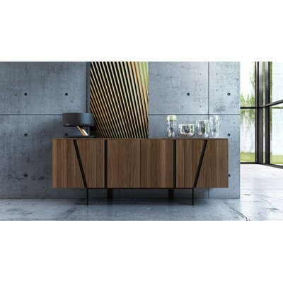 Mott Sideboard Color: Walnut