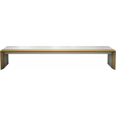 Beckenham Coffee Table Finish: Beige Lacquer / Natural Oak