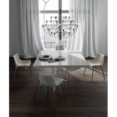 Clarges Dining Table Finish: White