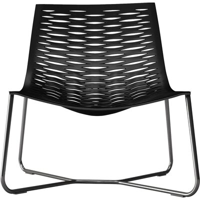 York Lounge Chair Finish: Black