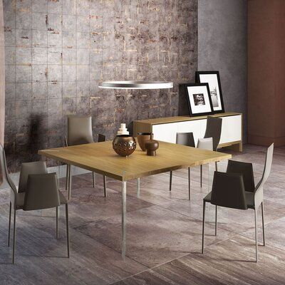 Bari Dining Table Top Finish: Natural Oak