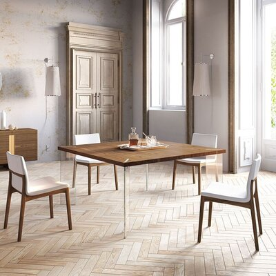 Bari Dining Table Top Finish: Canaletto Walnuts