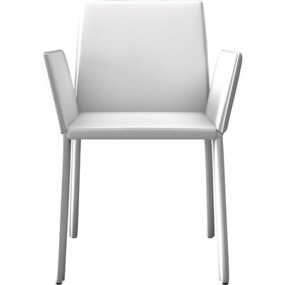 Sanctuary Arm Upholstered Dining Chair Color: Alpine