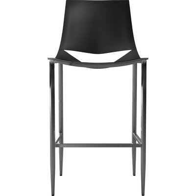 Sloane Bar Stool Color: Black