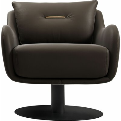 Platt Swivel Lounge Chair Finish: Cacau
