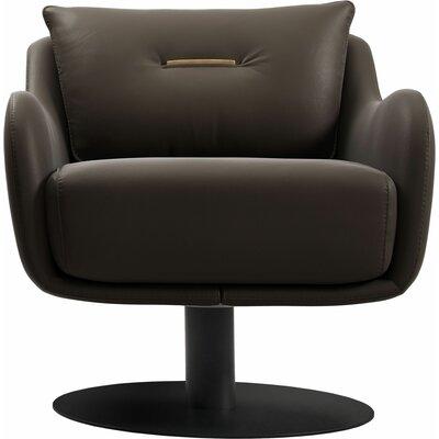 Platt Swivel Lounge Chair Finish: Cacau