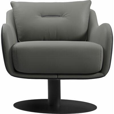 Platt Swivel Lounge Chair Finish: Warm Gray/Graphite