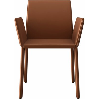 Sanctuary Arm Upholstered Dining Chair Color: Whisky
