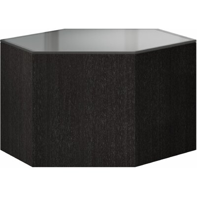 Centre Coffee Table Size: 18 H x 18 W x 18 D, Top Color: Cool Gray