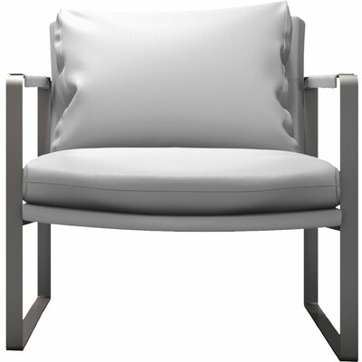 Charles Armchair Upholstery: White