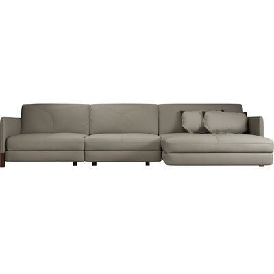 Lafayette Sectional Upholstery: Opala, Orientation: Right Hand Facing