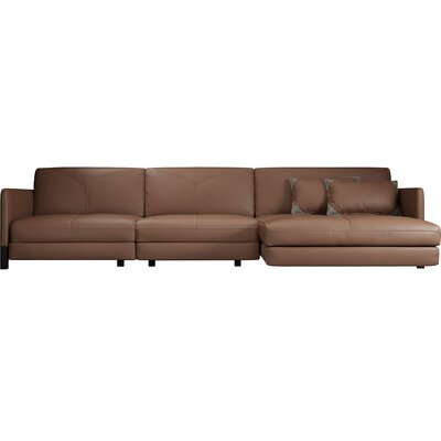 Lafayette Sectional Upholstery: Safari, Orientation: Right Hand Facing