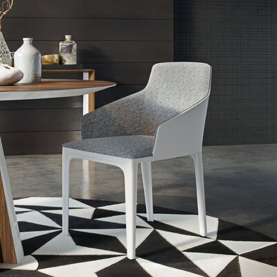Oxford Dining Chair Finish: Gray Denim / Bright White