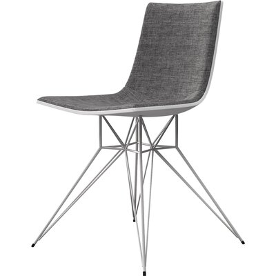 Audley Side Chair Upholstery: Graphite