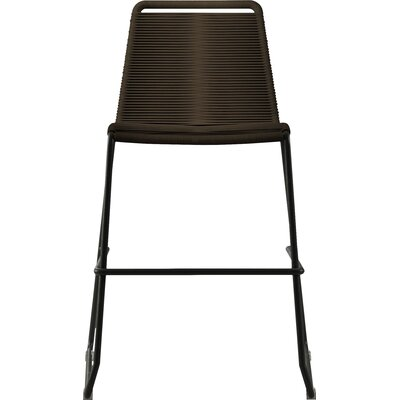 Barclay 26 Patio Bar Stool Color: Mocha