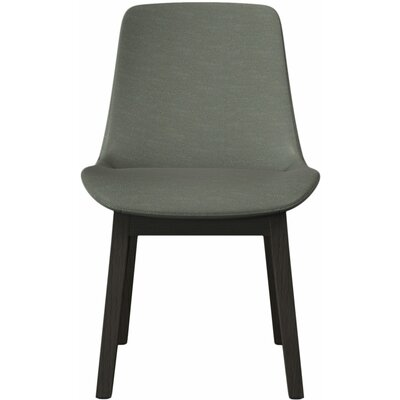Mercer Side Chair (Set of 2) Upholstery: Gray