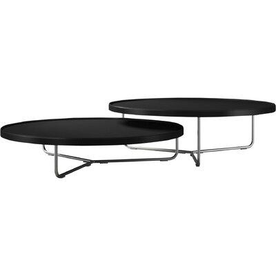 Adelphi 2 Piece Coffee Table Set Top Color: Black