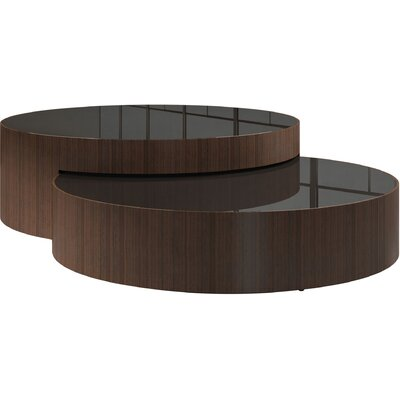 Berkeley 2 Piece Coffee Table Set Color: Rovere Grigio