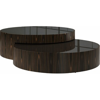 Berkeley 2 Piece Coffee Table Set Color: Cathedral Ebony