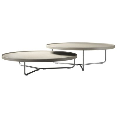 Adelphi 2 Piece Coffee Table Set Top Color: Beige