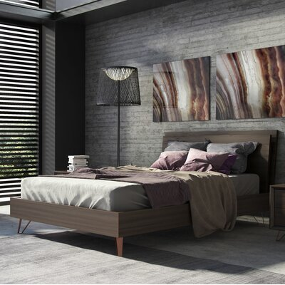 Grand Platform Bed Size: Queen
