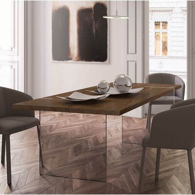 Firenze Dining Table Top Finish: Canaletto Walnut