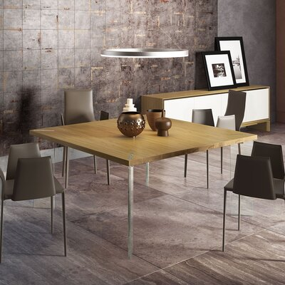 Bari Dining Table Top Finish: Natural Oak
