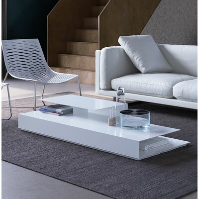 Acton Coffee Table Color: White