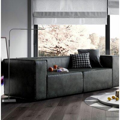 Dominick Sleeper Sofa Upholstery: Aged Onyx