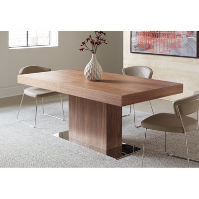 Astor Dining Table Table Finish: Walnut