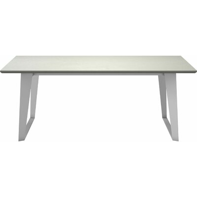 Amsterdam Steel Concrete Dining Table 1624 Item Photo