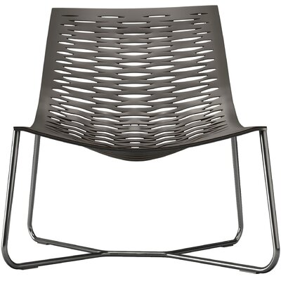 York Lounge Chair Finish: Gray